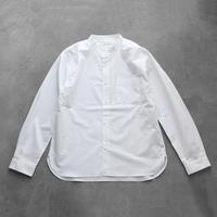 バンドカラーコットンシャツ【ユニセックス】