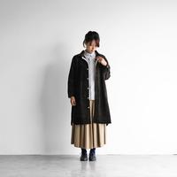 シャトルコーデュロイロングシャツ(太畝・カーキ)【ユニセックス】