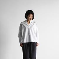 オーガニックコットンスキッパープルオーバ(白)【レディス】U611