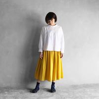 ゆるふわコットンスカート(ミモザ)【レディス】