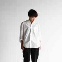 オーガニックコットンビッグシャツ(白)【ユニセックス】011