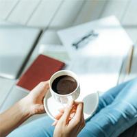 [定額定期便] カフェインレス【豆】 300g  送料込み