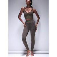 Lurex   7/8 leggings/Shale