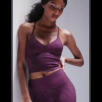 Priya Paisley Bra - Potent Purple