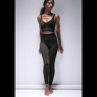 Lurex 7/8 Legging Black