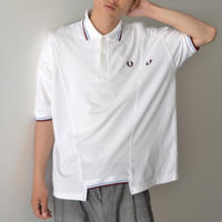 FRED PERRY x 77circa / TWIN TIPPED FRED PERRY SHIRT - WHITE