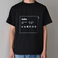 kudos / CARE TAG T-SHIRT