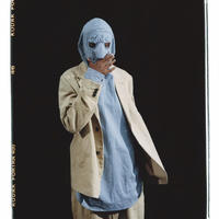 ROTOL / MASK FOOD SHIRT / BLUE