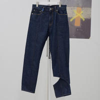kudos / WINDOW DENIM TROUSERS / INDIGO