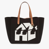 JW ANDERSON x David Wojnarowicz / Burning House Belt Tote Bag