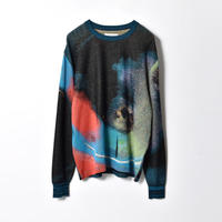 【BREATH by DELTA別注】HATRA / Syn Feather Sweater / PIGEON