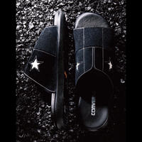 CONVERSE ADDICT / ONE STAR SANDAL / BLACK