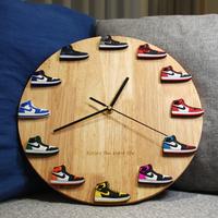 スニーカー掛け時計