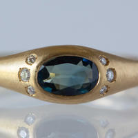 ---One of a kind---Handsome Sapphire Ring.