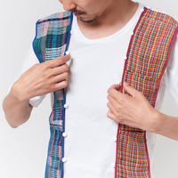MATEREAL / WRAP (men's  t -shirt)