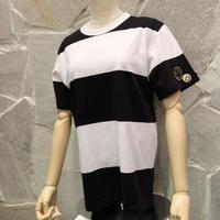 Motionオリジナル  ワッペン付きボーダーTシャツ