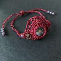portalizer (ミニ方位磁石ブレスレット)赤A