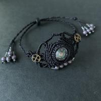 portalizer (ミニ方位磁石ブレスレット)黒A