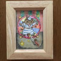 猫髭サーカス団【ナイフ投げ】ミニ原画