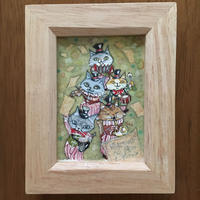 猫髭サーカス団【パレード】ミニ原画
