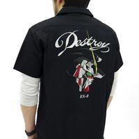 ユニコーンガンダム 刺繍ワークシャツ  [機動戦士ガンダムUC(ユニコーン)]