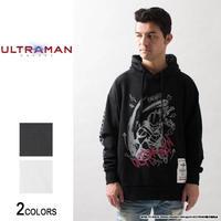 『ULTRAMAN』 ウルトラマン 落書き風イラストサイドジップパーカー(男女兼用)【backside of tokyo】