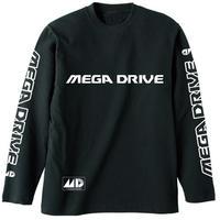 【メガドライブ / MEGA DRIVE】 リブなしロングスリーブTシャツ【COSPA】