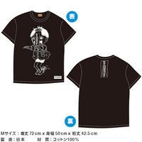 キョンシーまことシリーズ グラフィックTシャツ(黒)【楳図かずお】