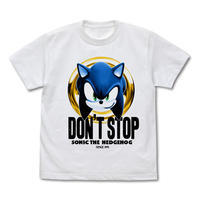 【SONIC THE HEDGEHOG】DON'T STOP SONIC Tシャツ【COSPA】