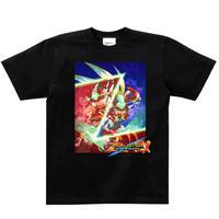 【ロックマン】ゼロ&ゼクス ダブルヒーローコレクション Tシャツ