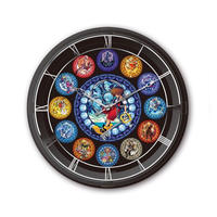 【KINGDOM HEARTS】LIGHTING CLOCK (壁掛け時計)