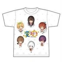 【変好き】 フルグラフィックTシャツ 【可愛ければ変態でも好きになってくれますか?】