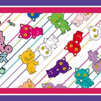 【モーニング娘。feat.カリバディクス】2.5SPINNSコラボマイクロファイバータオル 【最終値下げ!!】