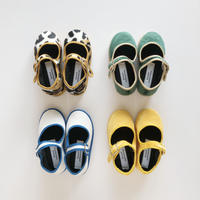Sciuscià BABY&KIDS shoes_LEOPARD,GREEN VELVET,WHITE CANVAS,YELLOW VELVET