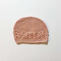 crochet hat_pink (dead stock)