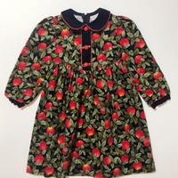 80s apple corduroy dress