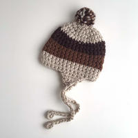 brown knitting hat (dead stock)