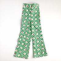 70s flower textile flea pants (dead stock)