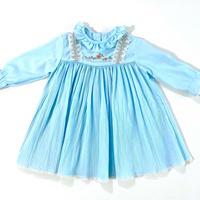 pleats dress (dead stock)