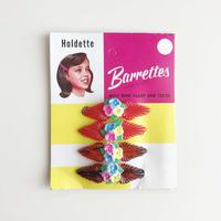50s floral hair clip (dead stock)