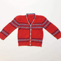 60s knitting cardigan