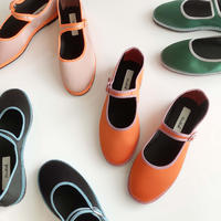 Sciuscià LADYSshoes SAMPLE_PINK×NEON ORANGE/GREEN×FOG/BLACK×TURQUOISE/CARROT×IRIS