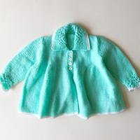 knitting cardigan