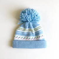 flower knitting hat (dead stock)