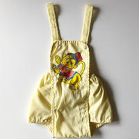 70s monkey sunsuit