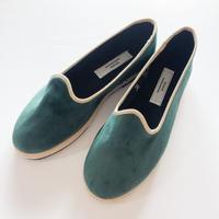 Sciuscià LADYS shoes_GREEN VELVET