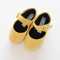 Sciuscià BABY&KIDS shoes_YELLOW VELVET