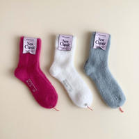 MARCOMONDE LADYS_mohair ribbed socks