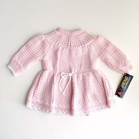 pink knitting dress (dead stock)