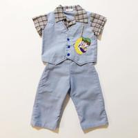 plaid shirts&pants outfit